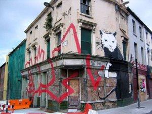 Banksy Graffiti Drawing | Beautiful Street art Seen On www.coolpicturegallery.us
